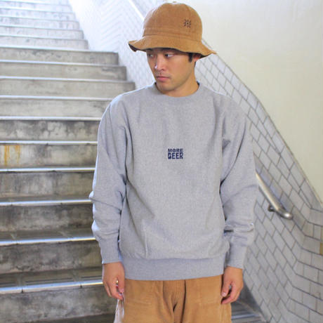 MORE BEER  SQUARE LOGO SWEAT (BLACK)