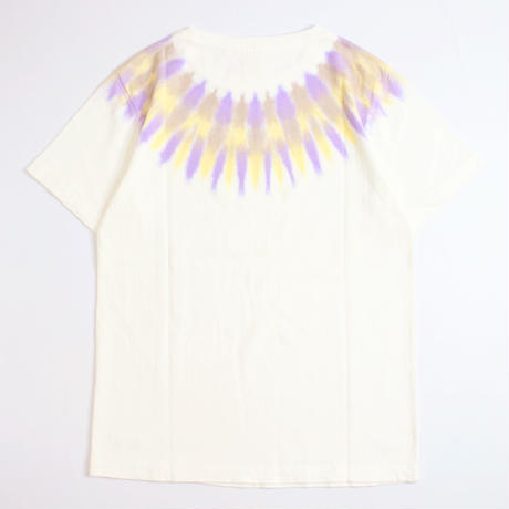 A HOPE HEMP × JAVARA「SPIRIT HEMP TEE (PURPLE)」
