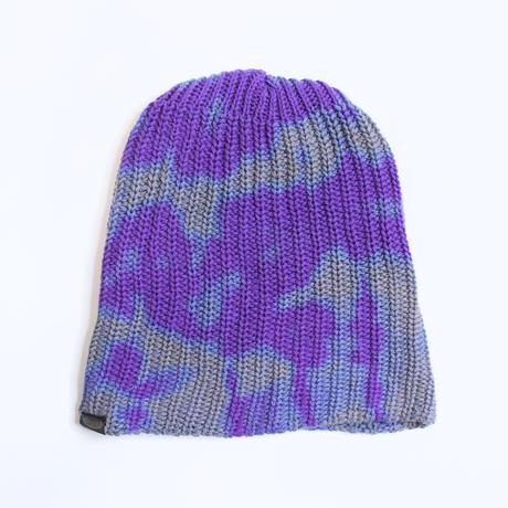 JAVARA「TIE DYE SABOTAGE CAP(PURPLE)」