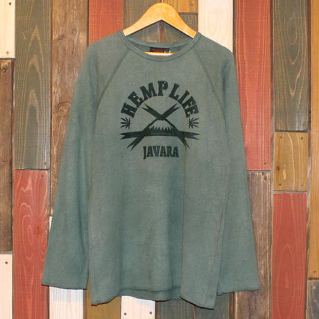 "JAVARA ""HEMP LIFE"" (GREEN)"