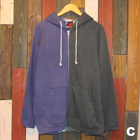 "JAVARA ""HEMP/COTTON ZIP PARKER"" (Lsize)"