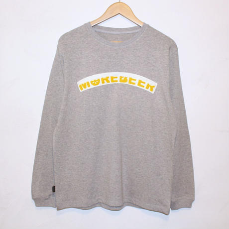 "JAVARA ""MORE BEER ARCH"" L/S (GRAY)"