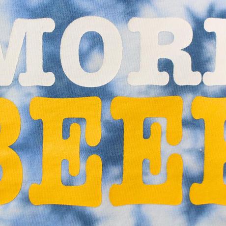 MORE BEER「BIG LOGO KID'S TEE(OCEAN MARBLE)」