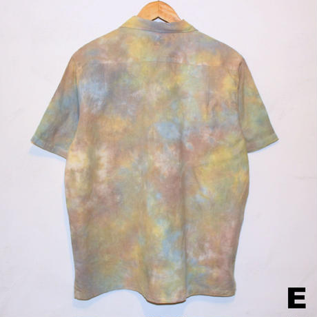 "A HOPE HEMP ""TIE DYE OPEN S/S SHIRTS""(Lサイズ各種)"