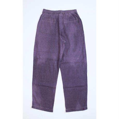 A HOPE HEMP × JAVARA「HEMP BAKER EASY PANTS(PURPLE)」