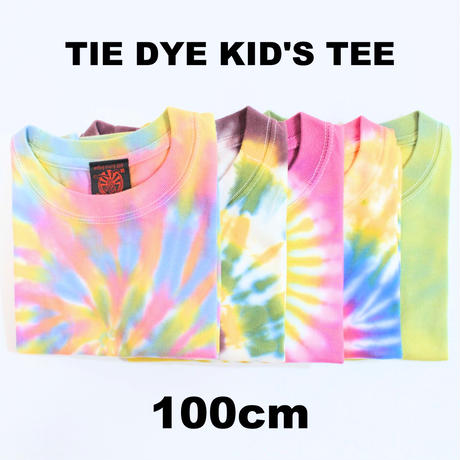 JAVARA「TIE DYE KID'S TEE (100cm)」