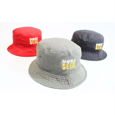 MORE BEER LOGO BUCKET HAT