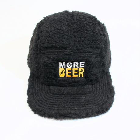 MORE BEER「CLASSIC LOGO BOA CAP(BLACK)」