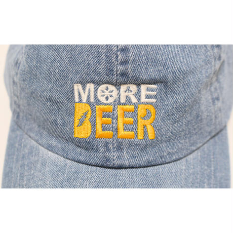 MORE BEER LOGO LOW CAP#1