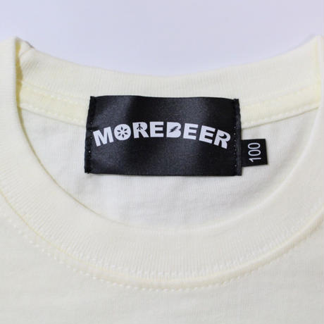 MORE BEER TYPE2 LOGO KID'S TEE(BEER COLOR)