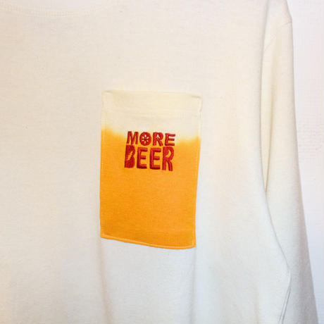 "JAVARA ""MORE BEER PKT"" L/S (NATURAL)"