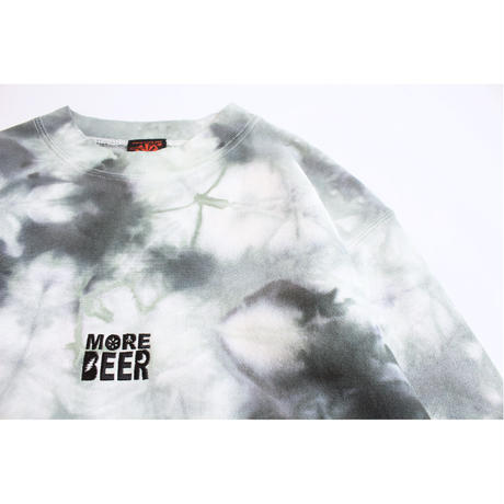 MORE BEER「LIMITED TIE DYE CLASSIC LOGO CREW#6」