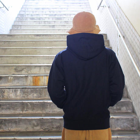 MORE BEER  ARCH LOGO PARKA (NAVY)