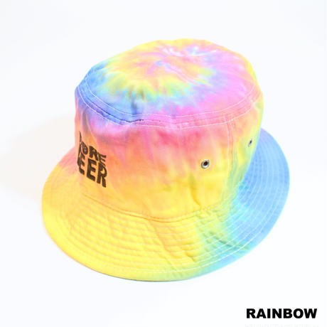 MORE BEER「CLASSIC LOGO TIE DYE BUCKET HAT」