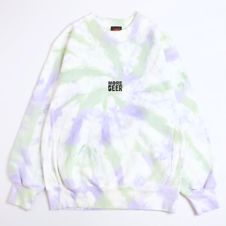 MORE BEER「LIMITED TIE DYE CLASSIC LOGO CREW#10」