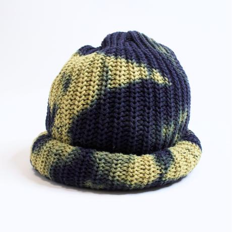 JAVARA「TIE DYE SABOTAGE CAP(NAVY)」