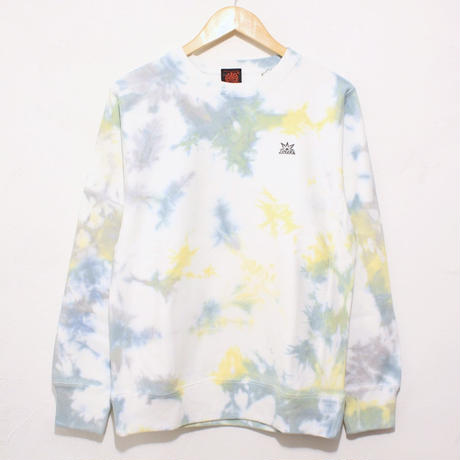 JAVARA「MARBLE CREW NECK SWEAT(GRAY+MINT+YELLOW)」