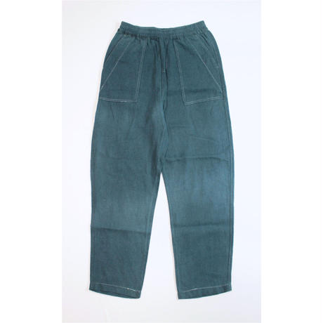 A HOPE HEMP × JAVARA「HEMP BAKER EASY PANTS(GREEN)」