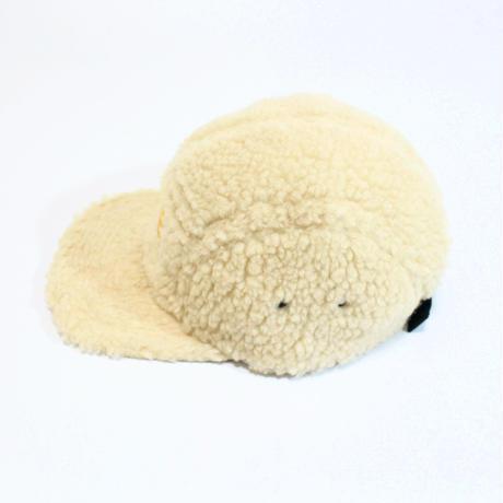MORE BEER「CLASSIC LOGO BOA CAP(BEIGE)」