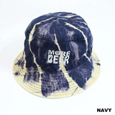 MORE BEER LOGO BUCKET HAT (RASEN BLEACH)