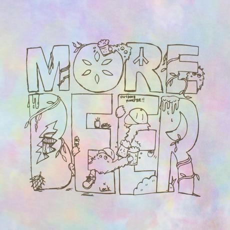 Lock × MORE BEER「MONSTER TEE(AURORA)」