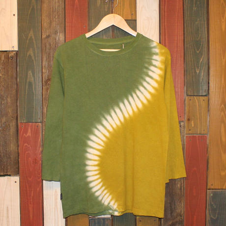 "JAVARA ""S"" 3/4SLEEVE (GREEN&GREEN)"