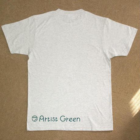 Artist Green 登録会員3000人記念Tシャツ(Sサイズ)