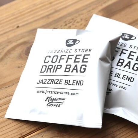 "JAZZRIZE STORE COFFEE DRIP BAG ""JAZZRIZE BLEND"" (Blend by NAGASAWA COFFEE)"
