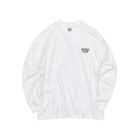 GOLDEN LADY LONG SLEEVE TEE [BLACK]