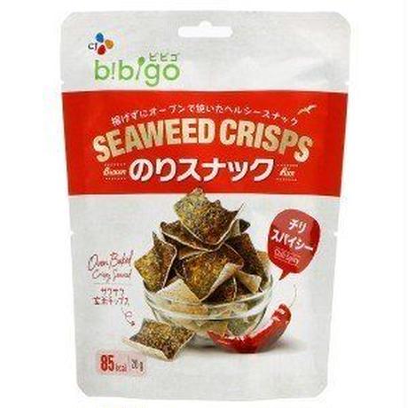 bibigoのりスナック チリスパイシー(20g)/のりお菓子/韓国お菓子