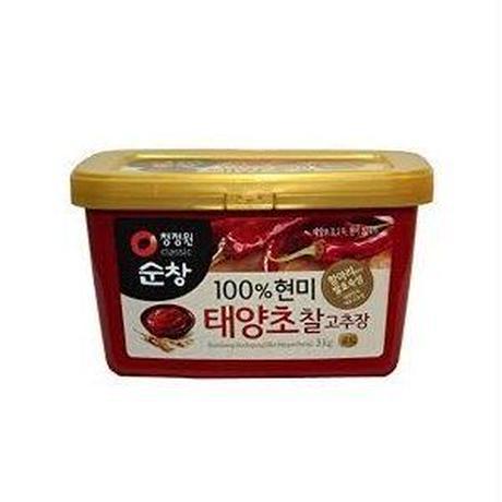 スンチャンコチュジャン3kg,玄米 コチュジャン ,/韓国調味料/韓国コチュジャン 当日発送