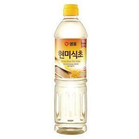 『センピョ』玄米酢(900ml) 調味酢 韓国調味料 韓国食材 韓国料理 韓国食品