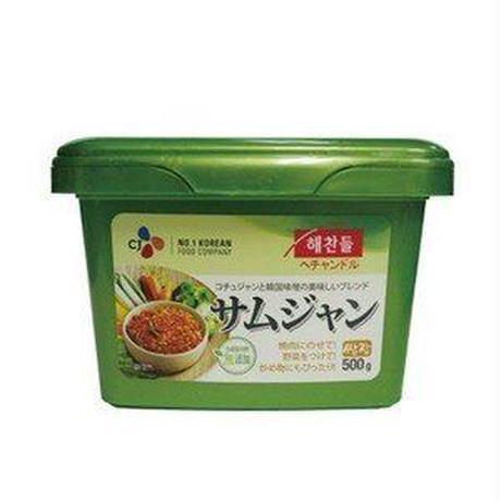 ヘチャンドルサムジャン 500g,サムジャン(焼肉用味噌)500g/韓国調味料/韓国焼肉味噌