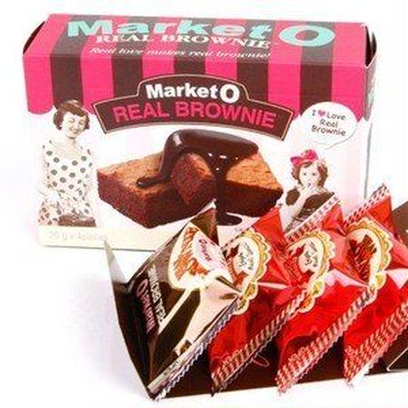 Market O リアルブラウニー/韓国お菓子/韓国スナック
