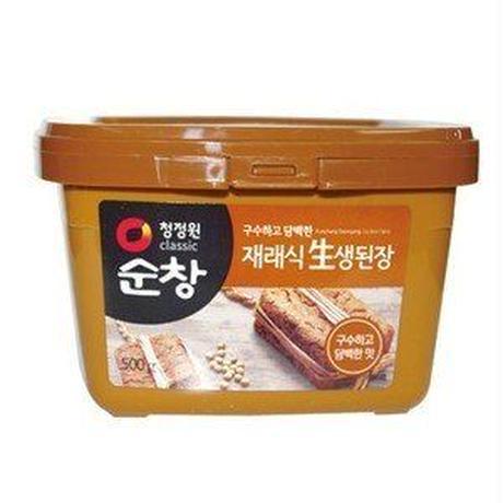 スンチャンテンジャン(韓国味噌) 500g,味噌/韓国調味料/韓国味噌