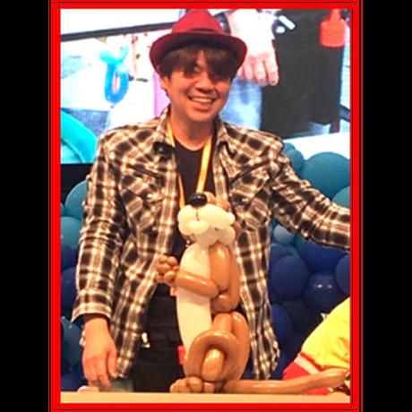 【教室用資材】堀家壮介先生のバルーンパック【中~上級】「トイプードルのフィギュア」