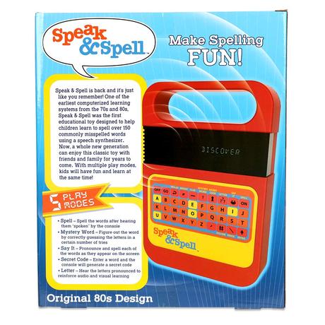 スピーク&スペル 復刻版 Speak & Spell