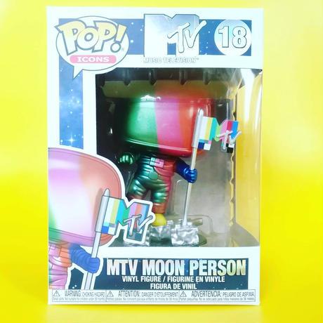 ファンコ ポップ  MTV ムーン・パーソン【メタリックレインボー】 FUNKO  POP!   MTV Moon Person   (Metallic Rainbow)
