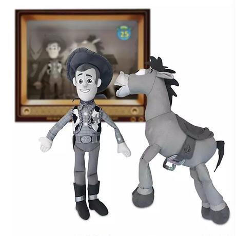 トイストーリー25周年 ウッディ&ブルズアイ ぬいぐるみセット  Toy Story 25th Anniversary
