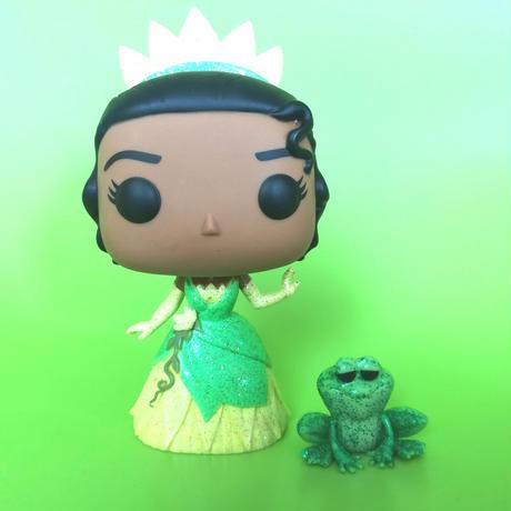 ファンコ ポップ ディズニー プリンセス ティアナとナヴィーン(グリッター)  FUNKO POP! DISNEY  Princess Tiana & Naveen (Glitter)