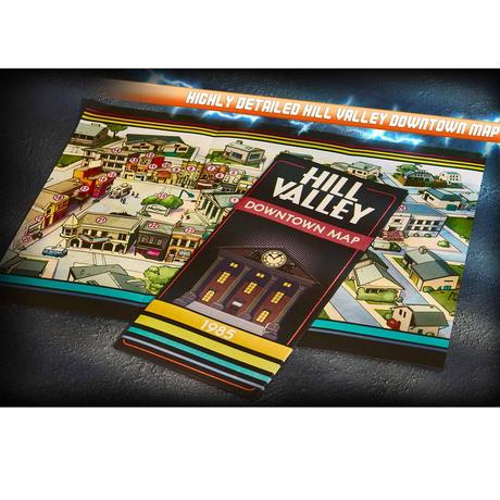 6000セット限定「バック・トゥ・ザ・フューチャー」プロップレプリカセット Back to the Future Time Travel Memories Kit