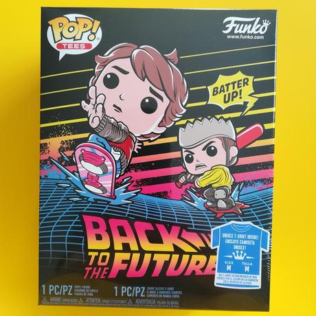 ファンコ ポップ 「バック・トゥ・ザ・フューチャー」マーティ w/ホバーボード Tシャツセット FUNKO POP BTTF - Tshirt Set