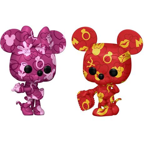 ファンコ ポップ ディズニー アーティストシリーズ① ミッキーマウス & ミニーマウス