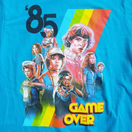 """『ストレンジャー・シングス 未知の世界』Stranger Things """"GAME OVER""""   Tシャツ"""