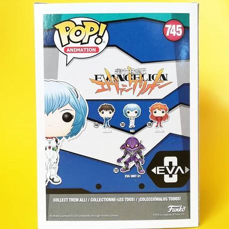 ファンコ ポップ 『新世紀エヴァンゲリオン』綾波レイ FUNKO POP! Neon Genesis Evangelion Rei Ayanami