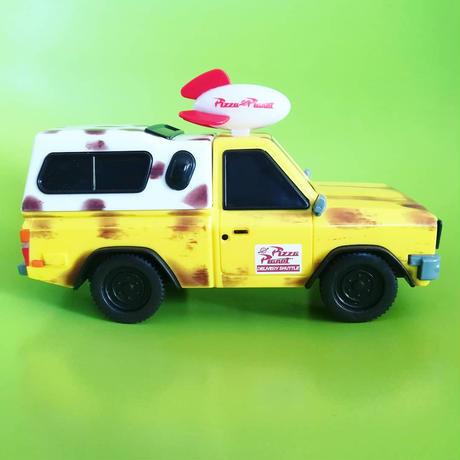 イギリスDisney Storeトイストーリー  ピザプラネット・トラック  プルバックカー