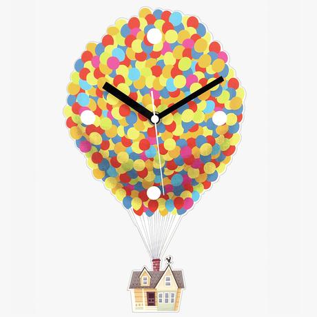 『カールじいさんの空飛ぶ家』 掛け時計 DISNEY PIXAR UP HOUSE WALL CLOCK