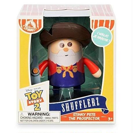 トイストーリー2 ぜんまいトイ  プロスペクター  Shufflerz Walking Figure  Stinky Pete