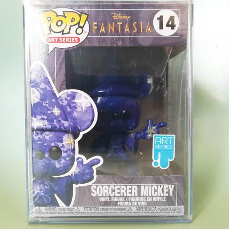 ファンコ ポップ アートシリーズ ディズニー『ファンタジア』80周年記念 魔法使いミッキー(スターズ)