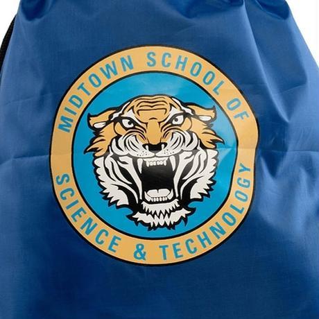 『スパイダーマン/ホームカミング』ミッドタウン高校の 巾着バッグ/ストリングスバッグ